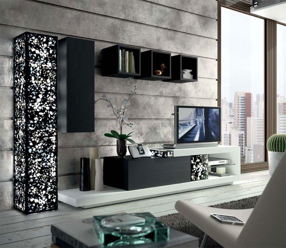 Colecci n ortus muebles zafra - Decoracion columnas salon ...
