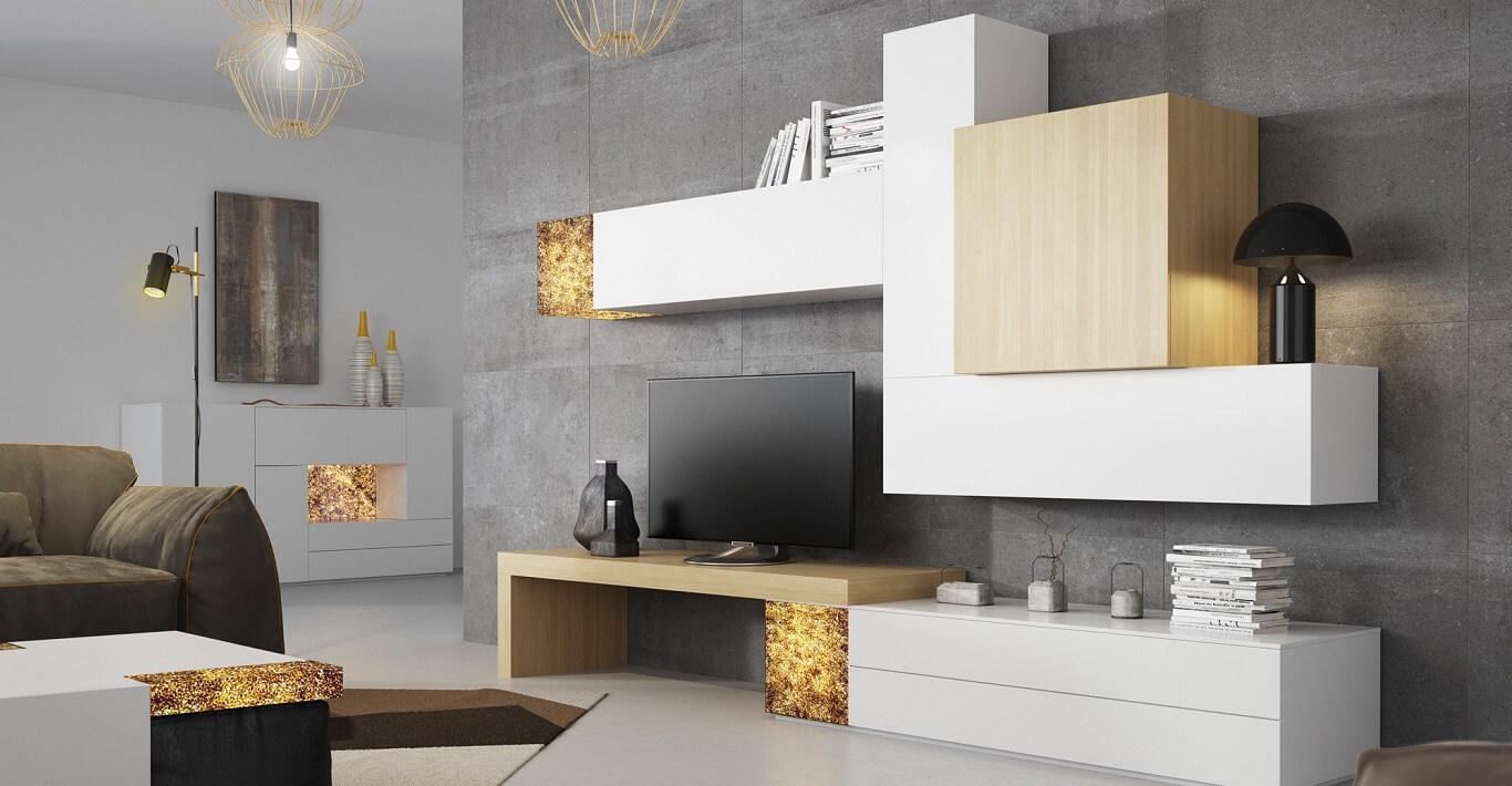 Muebles zafra comedores y recibidores modernos for Fabricantes muebles salon